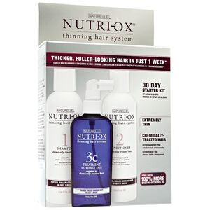 Extremely Thin  Chemically Treated Hair Starter Kit