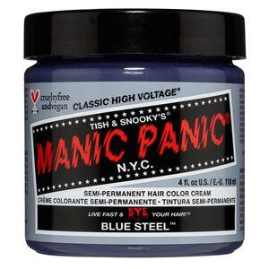 Blue Steel Semi Permanent Cream Hair Color