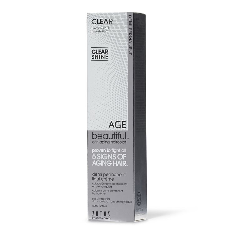 Clear Demi Permanent Liqui Creme Hair Color