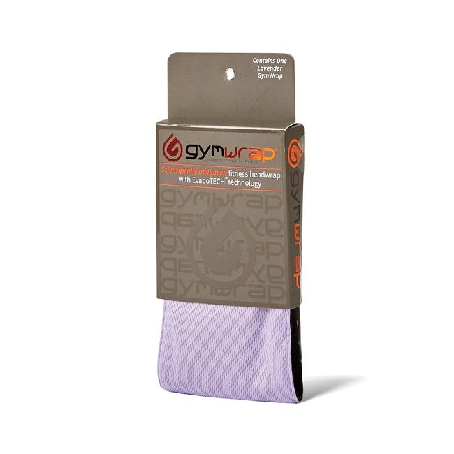 Lilac Tie Gymwrap Headwrap