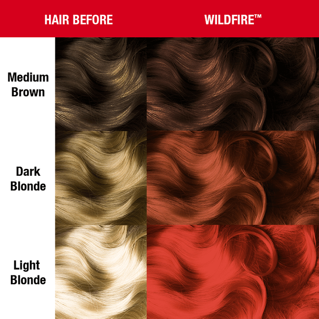 Wildfire Semi Permanent Cream Hair Color
