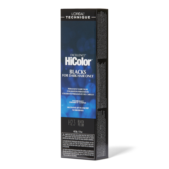 H23 Black Plum Permanent Hair Color