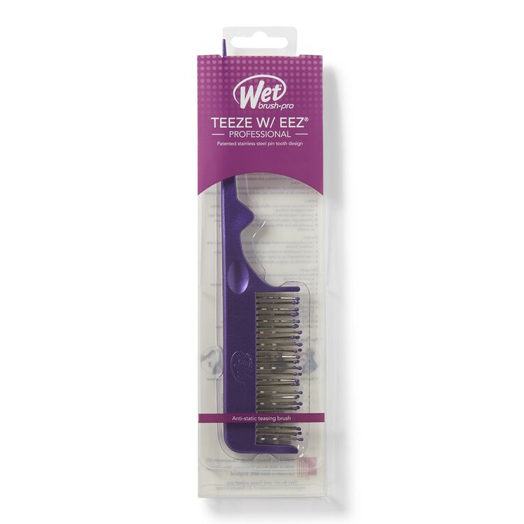 Purple Gray Teasing Comb