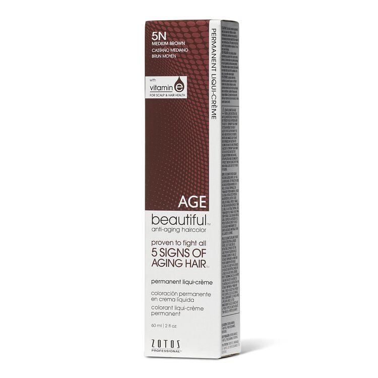 5N Medium Brown Permanent Liqui-Creme Hair Color