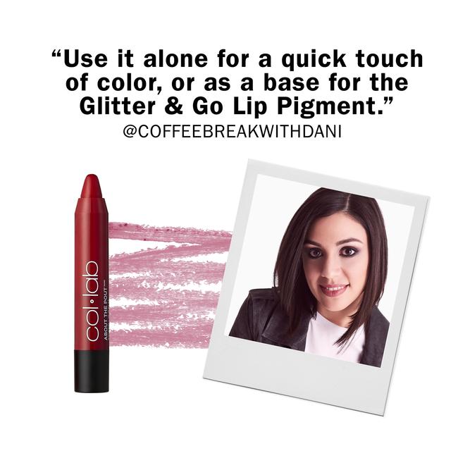 About the Pout Lip Balm Red-Carpet Treatment