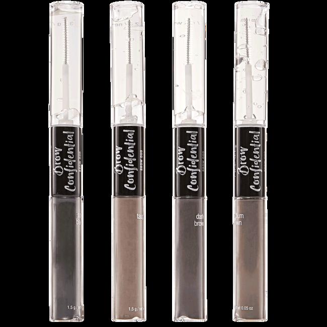 Brow Confidential Brow Duo – Dual Ended Brow Gel & Fiber Powder