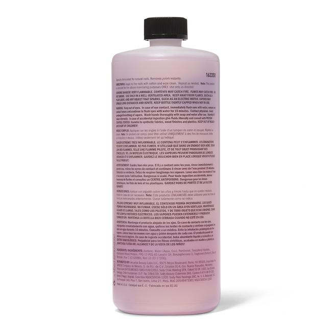 Acetone Nourishing Nail Polish Remover