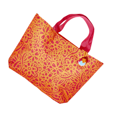 Floral Pattern Tote