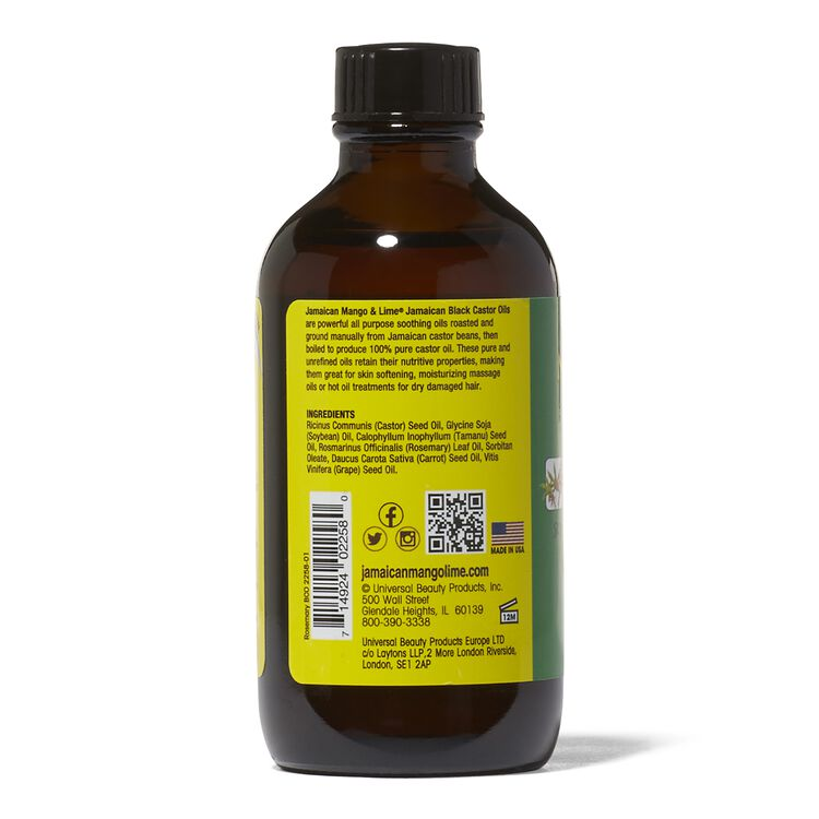 Rosemary Black Castor Oil