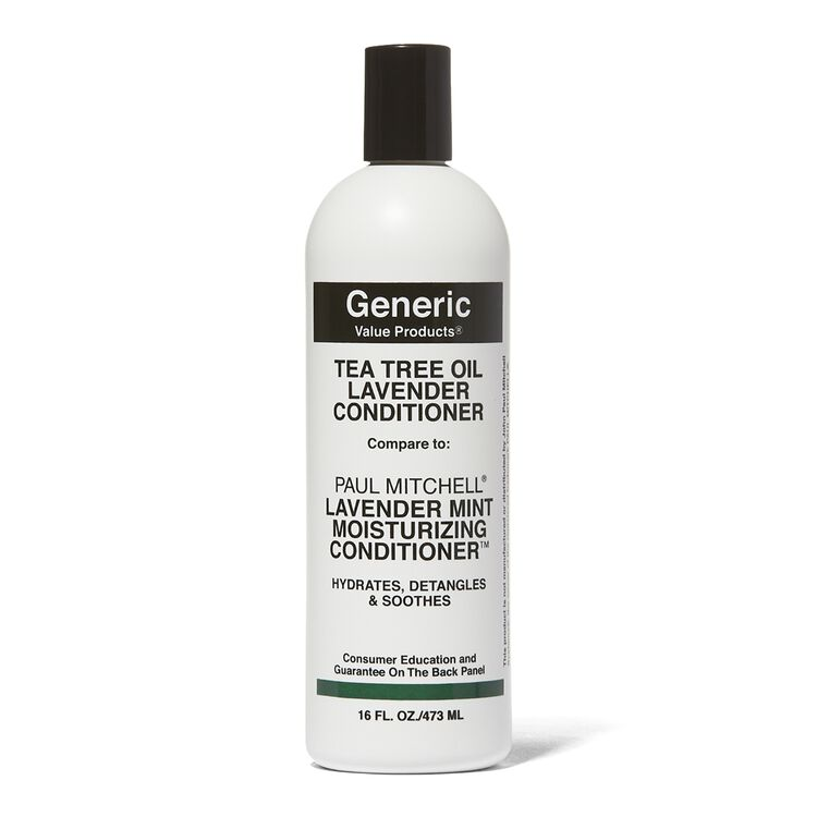 Tea Tree Oil Lavender Conditioner Compare to Paul Mitchell Lavender Mint Moisturizing Conditioner 16 oz