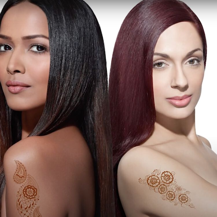 Henna Semi Permanent Hair Color