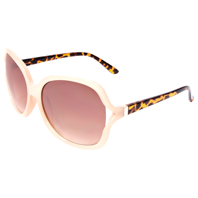 Square Bone Tortoise Sunglasses