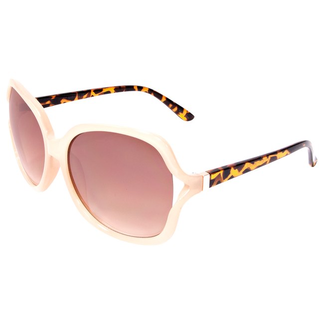 Square Bone Tortoise Sunglasses