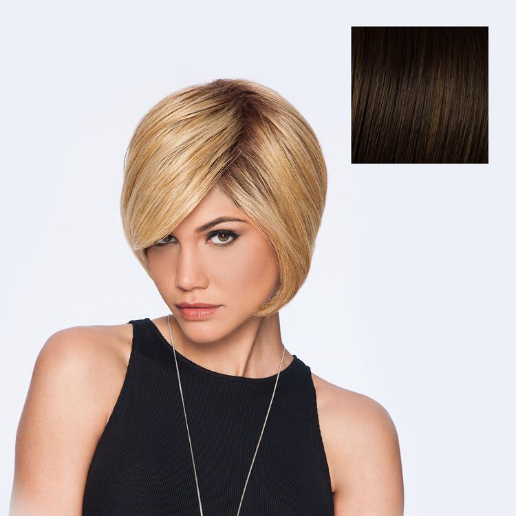 Layered Bob Wig  Chestnut