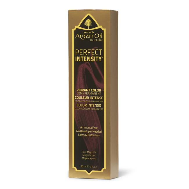 Perfect Intensity Pure Magenta Semi Permanent Hair Color