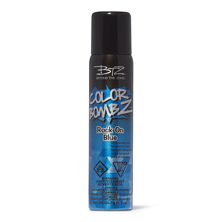 Rock on Blue Temporary Hair Color Spray
