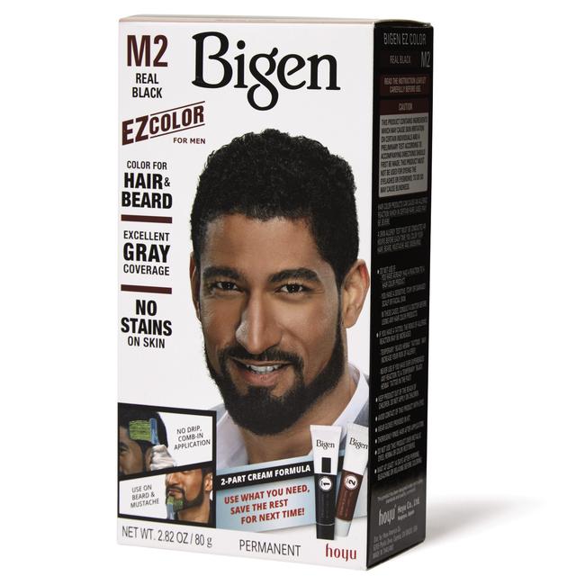 Men's EZ Permanent Hair Color M2 Real Black