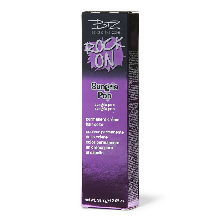 Sangria Pop Permanent Creme Hair Color