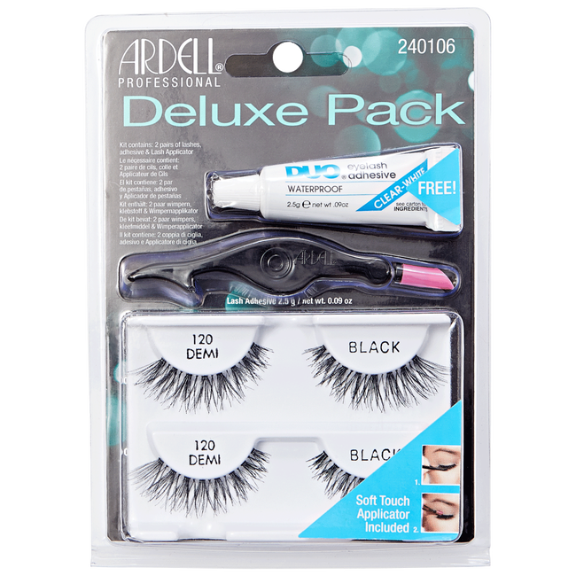 c170b7a0399 Deluxe Pack of Black #120 Lashes by Ardell | Eyelash Extensions ...