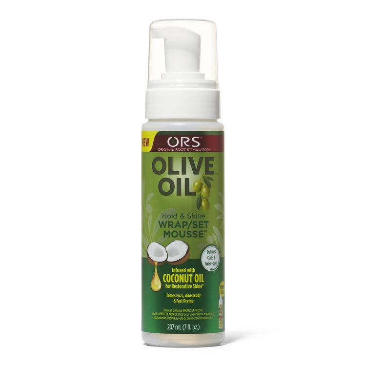 Olive Oil Wrap Set Mousse