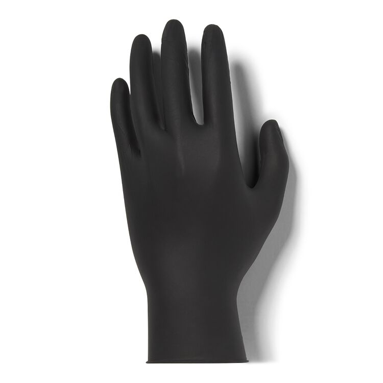 Medium Black Nitrile Gloves