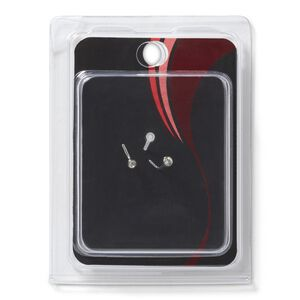 Stainless Steel Nose L-Shape & Retainer Pack