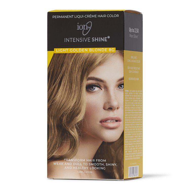 Intensive Shine Hair Color Kit Light Golden Blonde 8G