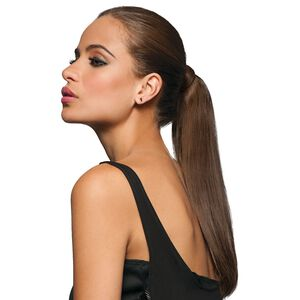 16 Inch Wrap-Around Human Hair Ponytail