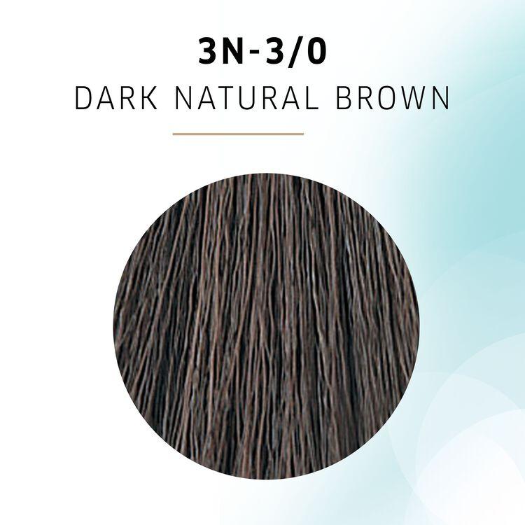 Dark Natural Brown Demi Permanent Hair Color