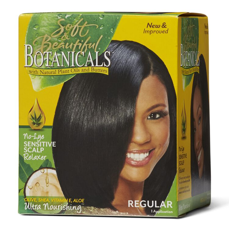 No Lye Sensitive Scalp Regular Relaxer