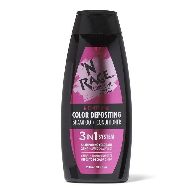 3 In 1 Color Depositing Shampoo & Conditioner N Finite Pink