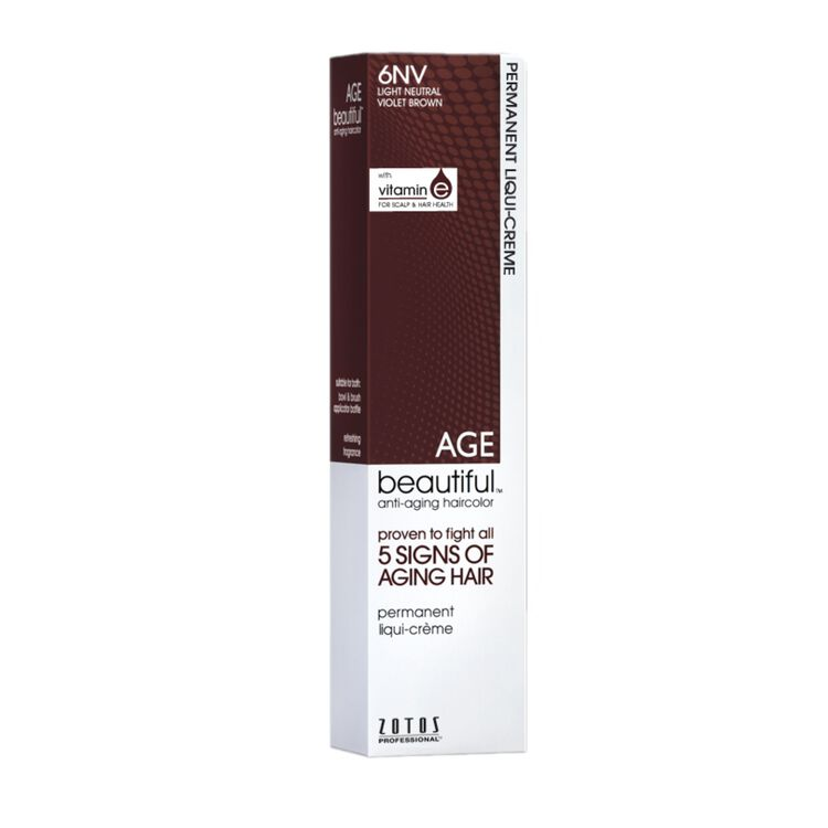 6NV Light Neutral Violet Brown Permanent Liqui-Crème Haircolor Neutral Violet Collection