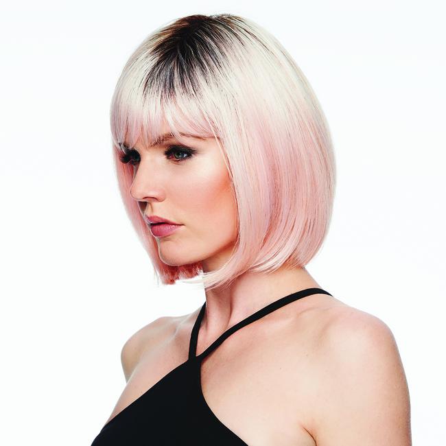 Peachy Keen Fantasy Wig