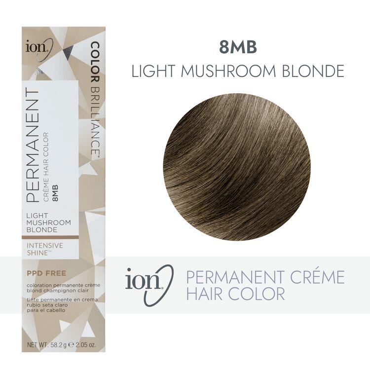 8MB Light Mushroom Blonde Permanent Creme Hair Color