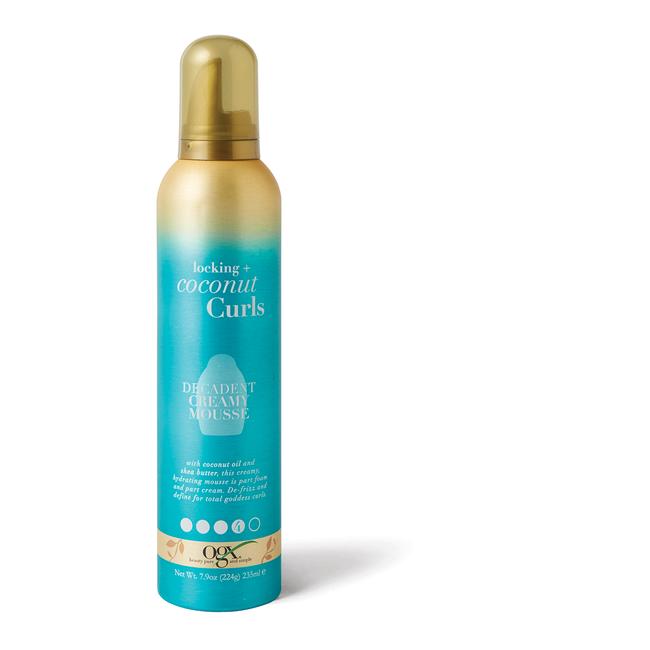 Locking Coconut Curls Decadent Creamy Mousse