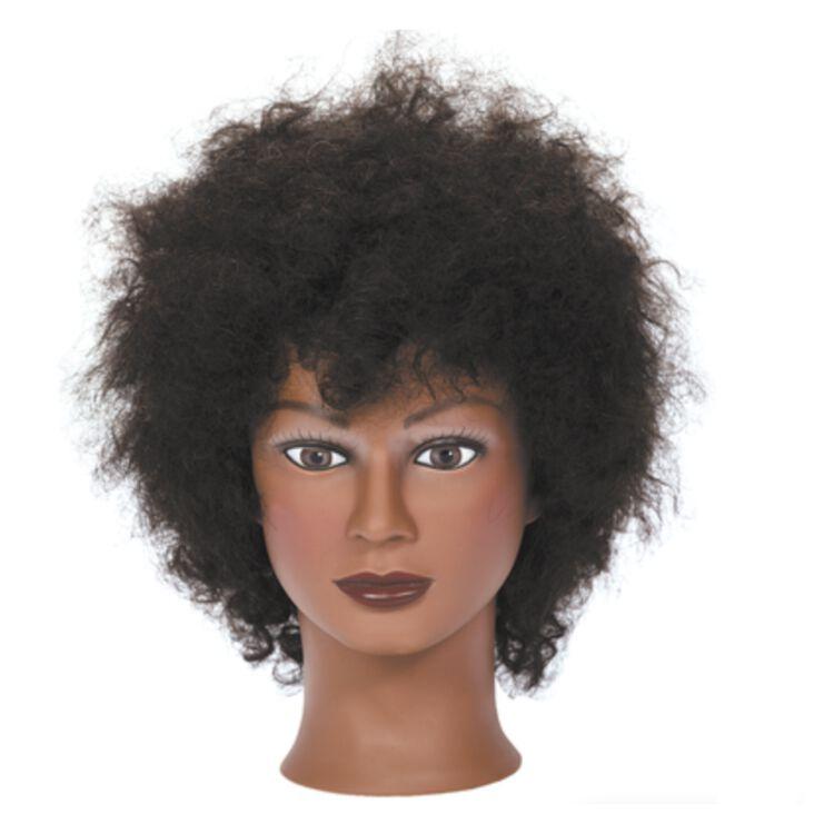 Miss Mia Afro Mannequin Head