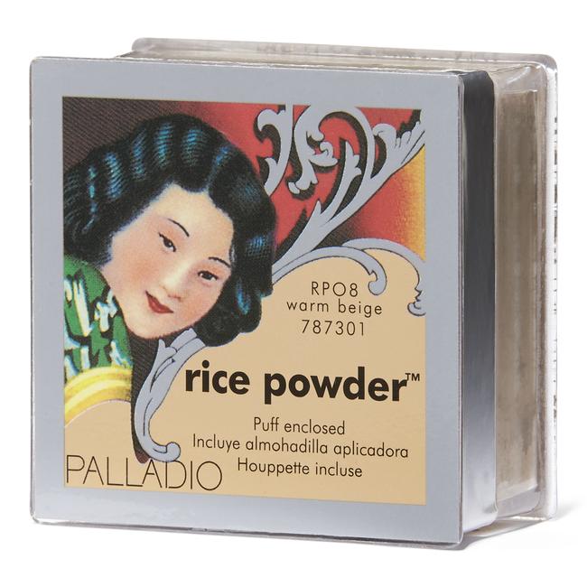 Palladio Natural Rice Loose Finishing Powder Warm Beige