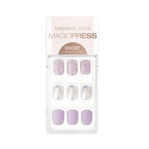 Magic Press on Nails Lilac Ice