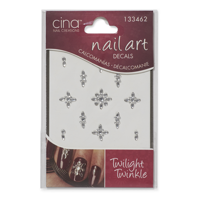 Cina Nail Creations Twilight Twinkles Art Jewelry Decals