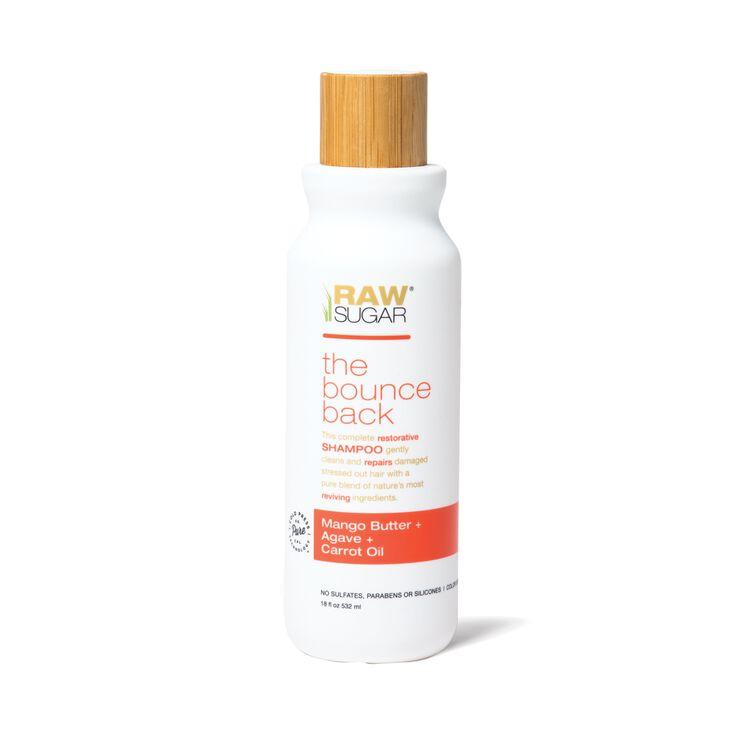 Bounce Back Shampoo - Mango Butter + Agave + Carrot Oil