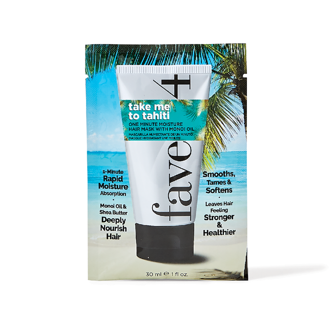 Take Me to Tahiti Moisture Mask Packette