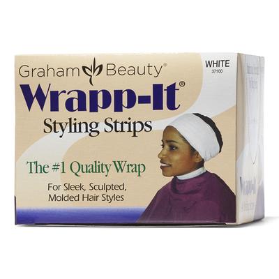 Wrapp-It White Styling Strips