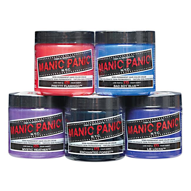 Super Manic Panic Semi-Permanent Hair Colors | Demi & Semi Permanent &VY69