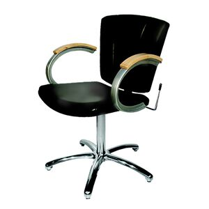 9731L Vanelle SA Shampoo Chair - Black