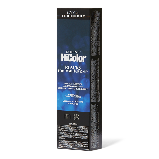 H21 Black Onyx Permanent Hair Color