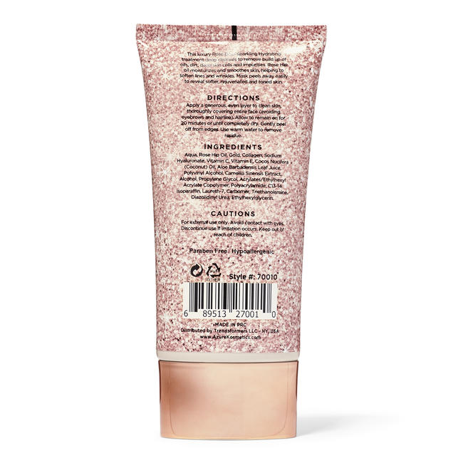 Rose Gold Sparkling Peel Off Mask