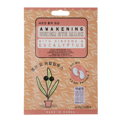 Ginseng and Eucalyptus Under Eye Mask