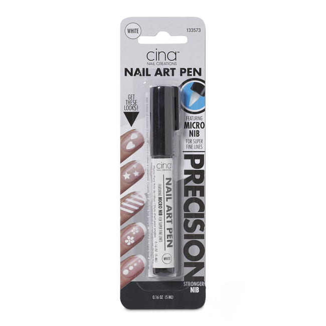 White Nail Art Pen