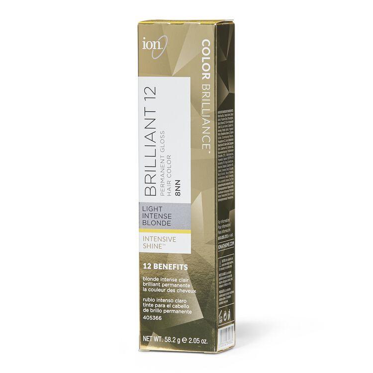 Brilliant 12 Intense Neutrals 8NN Light Intense Blonde Permanent Crème Hair Color