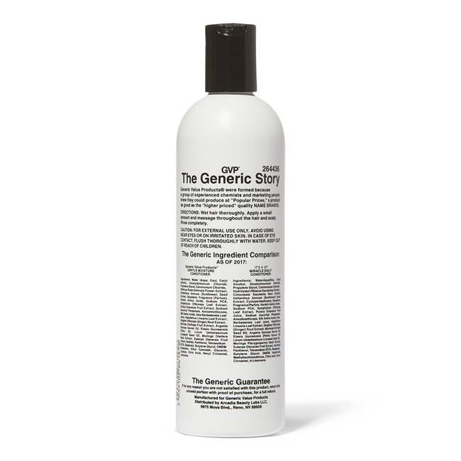 Gentle Moisture Conditioner Compare to It's a 10 Miracle Daily Conditioner